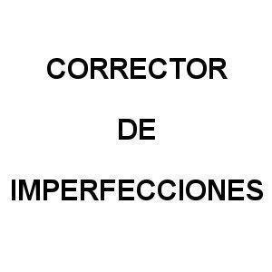 Corrector de Imperfecciones